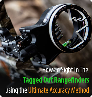 Learn how to sight in you archery sight using the tagged out extreme archery range finder and the ultimate accuracy method.