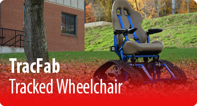 TracFab Tracked Wheelchair.